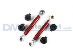 RX7 FD3S Red Adjustable Toe Control Upper Arm (Pair)